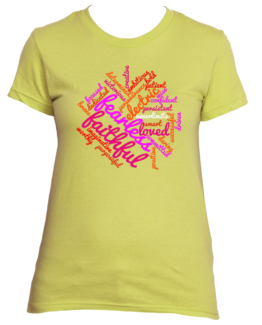 Fearless Faithful Cloud (Women's Tee)